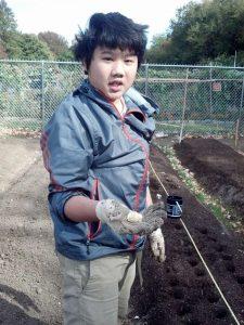 BJ Garlic Donates to Queens Botanical Garden